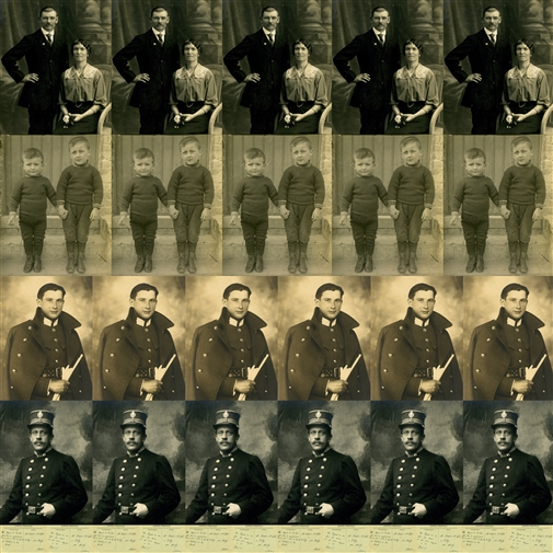 Adolphe's Family<br>Photographic Print on Fine Art Paper, Prints