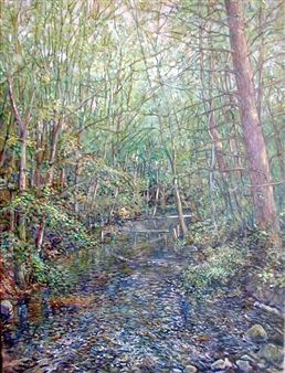James Chisholm - Millbrook Oil on Canvas, Paintings