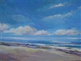 Sunday At the Beach<br>Acrylic on Canvas, Paintings