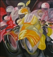 Allegoria della Moto 3<br>Oil on Canvas, Paintings
