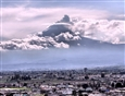 Volcano Popocatepetl<br>Photograph on Metallic Paper, Photography