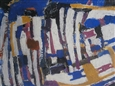Semantic in Blue, II<br>Acrylic on Canvas, Paintings