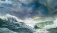 Sea Storm<br>Oil on Canvas, Paintings