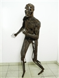 Wounded Man, Sufferee or Something Like That<br>Steel, Sculpture