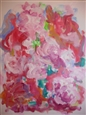 Cherry Blossoms<br>Acrylic on Canvas, Paintings