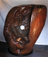 Caught In Time&lt;br>Wood &amp; Steel, Sculpture