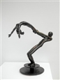 Untitled&lt;br>Blackened Steel, Sculpture
