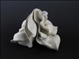 Conch 19, view 2&lt;br>Porcelain, Sculpture