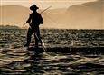 Fisherman<br>Digital Photograph on Fine Art Paper, Photography