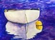Dory Reflections<br>Watercolor on Paper, Paintings