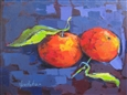 Clementines from Morocco<br>Acrylic on Canvas, Paintings