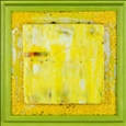 Mellow Yellow<br>Acrylic & Mixed Media on Wood, Paintings