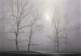 Foggy Mood<br>Oil on Canvas, Paintings