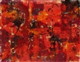 Hot Night III<br>Mixed Media on Paper, Paintings