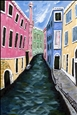 Ricordi Venezia<br>Acrylic on Canvas, Paintings