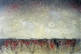 On the Tender Carpet Sown<br>Acrylic on Canvas, Paintings
