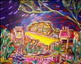 El Pedregal&lt;br>Acrylic on Canvas, Paintings