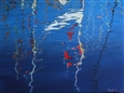 Frissons dans les voiles (Chill in the Sails)<br>Pastel on Paper, Paintings