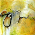 Dancing With My Shadow<br>Acrylic & Mixed Media on Canvas, Paintings