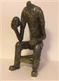The Thinker<br>Ceramic, Sculpture
