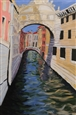 Liberta sul Ponte<br>Acrylic on Canvas, Paintings