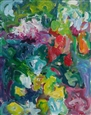 Joyous Garden<br>Acrylic on Canvas, Paintings