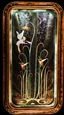 May I Have This Dance<br>Reverse Painting on Glass, Paintings