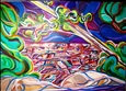 Symphony of Color&lt;br>Acrylic on Canvas, Paintings