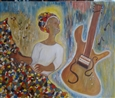 Gullah Melody<br>Oil on Canvas, Paintings