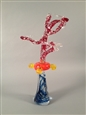 Ice Moon Series (Life Under the Ice Pack)<br>Glass, Sculpture