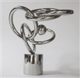 Masayawin (Dance Lover)<br>Stainless Steel, Sculpture