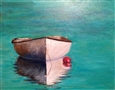 Dingy in Bermuda<br>Oil on Panel, Paintings