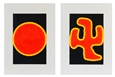 Sun, diptych<br>Oil on Canvas, Paintings