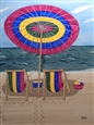 Ready for Summer<br>Watercolor on Board, Paintings