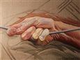 Grasp<br>Oil on Canvas, Paintings