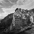 Cinque Terre<br>Photographic Print on B/W Argentic Paper, Photography