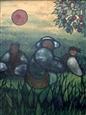 Gardeners #2<br>Oil on Canvas, Paintings