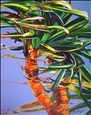 Tropical Pandanus No. 2<br>Giclee Print on Canvas, Prints