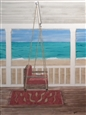 Porch Swing<br>Watercolor on Board, Paintings