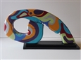 Bidule 3<br>Acrylic on Wood, Sculpture