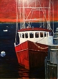 Red Boat Provincetown<br>Oil on Panel, Paintings