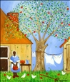 She Had a Taste for Apple Pie<br>Acrylic on Canvas, Paintings
