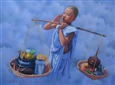 Remind for Offering of Food<br>Oil on Canvas, Paintings