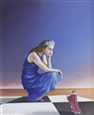 Scacco al Re (Checkmate the King)<br>Oil on Canvas, Paintings