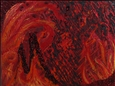 Elements Series, Fire<br>Acrylic & Mixed Media on Canvas, Paintings