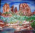 Bell Rock Winter&lt;br>Acrylic on Canvas, Paintings
