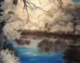 Winter Frost<br>Oil on Canvas, Paintings